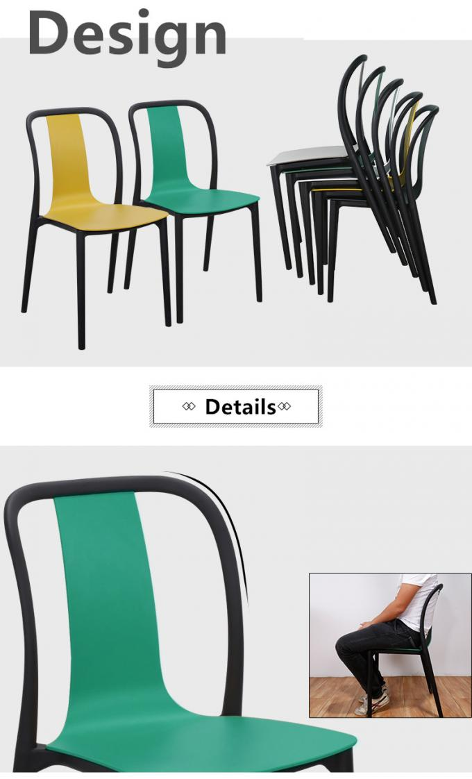 Practical Kids Plastic Chairs , Childrens Plastic Dining Room Chairs