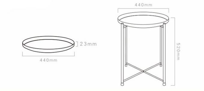 living room coffee Table Round center Table,contemporary coffee table Anti-Rust &Waterproof Outdoor& Indoor Snack table