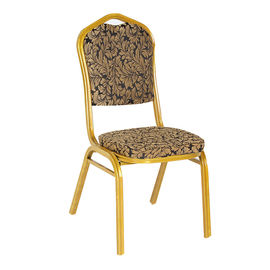China Comfortable Dining Room Velvet Chairs , Modern Stackable Canteen Chairs supplier
