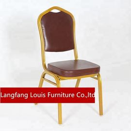 Metal Frame Velvet Dining Chairs , Luxury Velour Dining Room Chairs