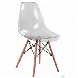 Comfortable Wooden Dining Chairs / Grey Dining Chairs With Wooden Legs