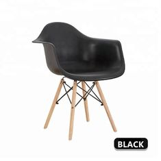 Durable Officeworks Plastic Chairs With Four Solid Beech Wood Legs