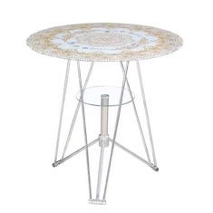 OEM Glass Top Dining Room Table