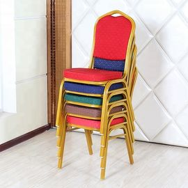 China Multi Colored Velvet Dining Chairs With Stable Crossbeam Weight Bearing factory