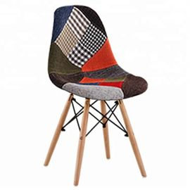 China Stable Patchwork Dining Chairs With Crossover And Triangular Structure factory