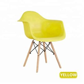 China Coloured Plastic Dining Chairs For Family / Restaurant / Coffee Bar factory