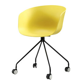 China Childrens Plastic Chairs With Flexible Wheels Multiple Colors Optional distributor