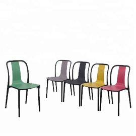 China Multi Colored Childrens Stackable Plastic Chairs For Home / School distributor