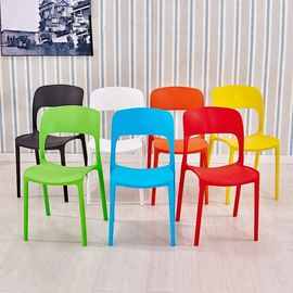 China Solid Color Kids Plastic Chairs For Dining Room / Living Room / Bedroom distributor