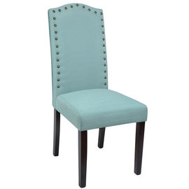 China Comfortable Cotton Fabric And Wood Dining Chairs For Banquet / Dinner Party factory